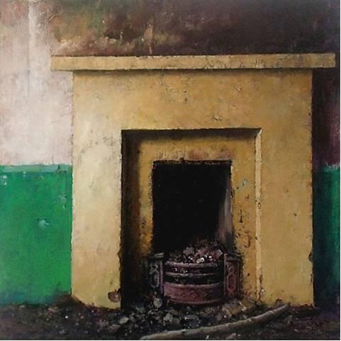 Tinteán Tréigthe no.1, by Eoin Mac Lochlainn, oil on canvas, 2014