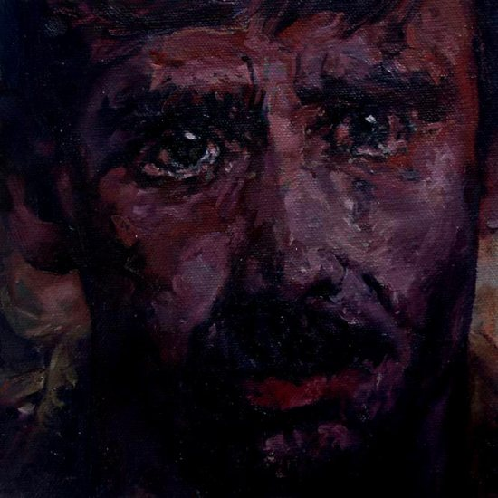 What I've seen - oil painting by Eoin Mac Lochlainn